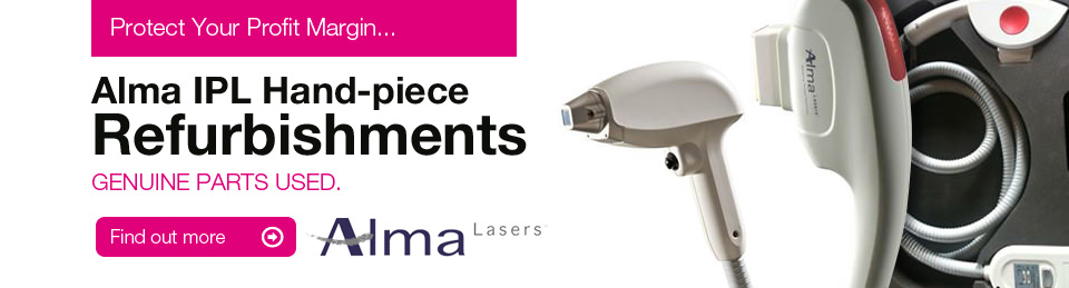 Alma Handpiece Refurbishments